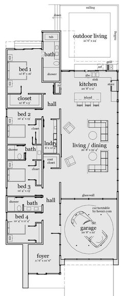 find this pin and more on house room adult first floor plan - 3 Bedroom House Floor Plan