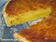 Tarte de chila e coco Food Cakes, Cheesecakes, Cornbread, Cake Recipes, French Toast, Food And Drink, Pie, Banana, Chocolate