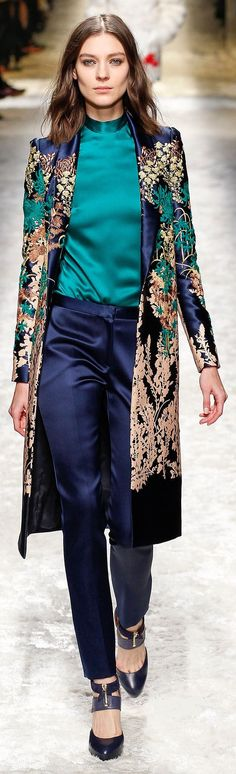 Fall 2014 Ready-to-Wear Blumarine Oh this looks like this would be my most comfortable favorite outfit. Haha