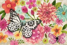 Butterfly Dream Hz by Jennifer Brinley | Ruth Levison Design