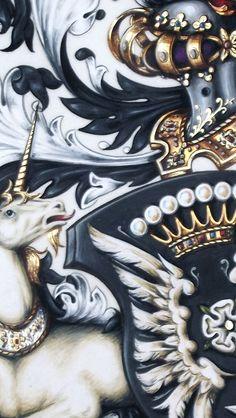 Neil Bromley - Arms Cornielje detail