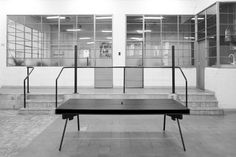 EGO desk Black polyester by Bram Kerkhofs