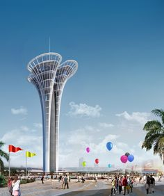 "NITA's ""Antalya Tower"" to be Built in Turkey"