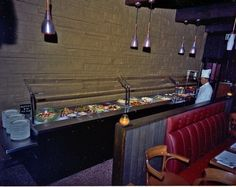 Salad bar, 1968