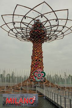 Expo Milano 2015 (official venue) in Rho, Lombardia