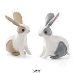 DIY sewn bunnies