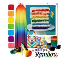 Rock the Rainbow by dutchsparky on Polyvore
