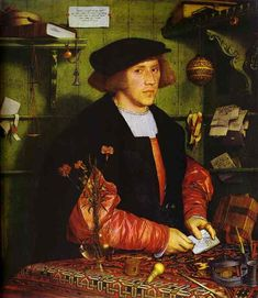 100 Greatest Paintings of All Time (pics) | Listology. HOLBEIN. George Gisze.  1532. Louvre. París.