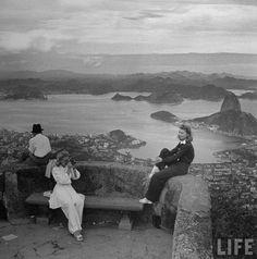 Rio de Janeiro. Imagem: LIFE magazine 1940's.
