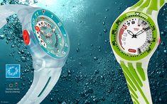 SWATCH - SPORT ACTIVE Fun Scuba - Fun Boarder - watches on Behance