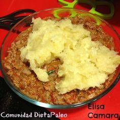 Comunidad DietaPaleo: Pastel de Yuca Con Carne - Dieta Paleo