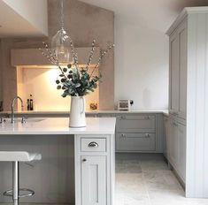 24 Ideas for farmhouse style plans open floor spaces Kitchen Mantle, Family Kitchen, Kitchen Nook, New Kitchen, Kitchen Decor, Kitchen Design, Kitchen Ideas, Kitchen Diner Extension, Open Plan Kitchen