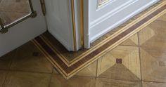Referenzen - ANTIQUE PARQUET - Restauriertes und antikes Parquett ist unsere Leidenschaft Tile Floor, Flooring, Texture, Antiques, Crafts, Restore, Passion, Surface Finish, Antiquities