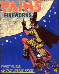 30 of the Hippest Vintage Fireworks Posters, Packaging and Labels for The Fourth of July. Retro Advertising, Vintage Advertisements, Vintage Ads, Vintage Posters, Graphics Vintage, Vintage Fireworks, Fireworks Art, Motorcycle Posters, Matchbox Art
