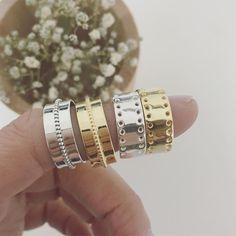 GOLD & SIlVER  Anillos Flat Balls y Flat en plata de ley y plata de ley acabada en oro de 18kt. Dos modelos de anillos adaptables que son muy muy  Encuéntralos en nuestra tienda online http://ouipetit.com  #ouipetit #joyas #joyitas #essentials #ouipetitrings #anillosouipetit #anillosdeplata #cute #gold