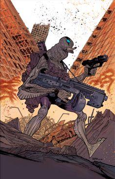 Comic Illustrations by James Harren