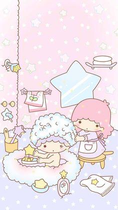 Sanrio Little Twin Stars hair pin 2 pins for kids