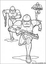 Ausmalbilder Star Wars Clone Trooper  Malvorlagen  Pinterest