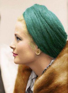 Grace Kelly, Princess Grace of Monaco Timeless Beauty, Classic Beauty, Turbans, Princesa Grace Kelly, Grace Kelly Style, Muse, Patricia Kelly, Prince Rainier, Kelly Monaco