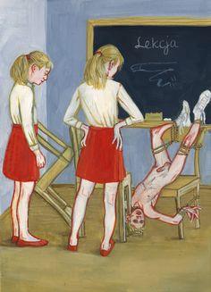 The Depraved Artwork of Aleksandra Waliszewska -