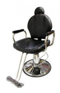 TMS All-Purpose Reclining Hydraulic Barber Chair