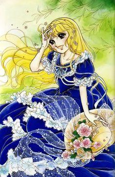 Artwork by manga artist Chieko Hara.