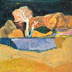 Jo Bertini ~ Big Gum Swamp ~ 2016 oil on canvas Paintings I Love, Seascape Paintings, Abstract Landscape, Abstract Art, Contemporary Landscape, Brain Art, Australian Artists, Artist Art, Painting Inspiration