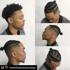 with ・・・ Tag team Sauce with my barber sis with the braids 🔥🔥🔥🔥🔥🔥🔥 Braid Styles For Men, Hair Twist Styles, Short Hair Styles, Braids With Fade, Braids For Boys, Black Men Haircuts, Black Men Hairstyles, Dreadlock Hairstyles For Men, Braided Hairstyles