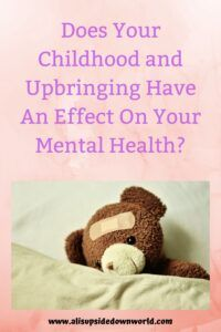 Things that are said to us in childhood can stick with us as we get older and affect our mental health. If we were told bad things about ourselves as children we carry those thoughts with us. This could affect your mental health in many ways. In this post, we talk about how you can deal with that. #mentalhealth Mental Health Resources, Kids Mental Health, Mental Health Problems, Family Fun Night, Ways To Show Love, Thing 1, Anxiety Treatment, Postpartum Care