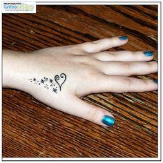 Higher Resolution Love Heart Tattoo Design Fashion For Girls