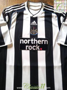Relive Newcastle United s 2009 2010 season with this original Adidas home football  shirt. Newcastle cf9b7c7b7