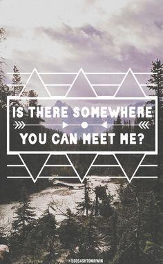 Is There Somewhere - Halsey credit: @5sosashtonirwin