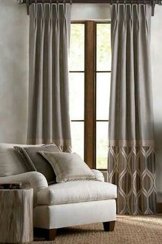 Need Help with Window Coverings? We specialize in custom Drapery Panels At our In-Home Consultation we come to your home to. Curtains With Blinds, Curtains Living Room, Window Decor, Drapery Panels, Window Design, Curtains, Window Coverings, Curtain Styles, Curtain Designs