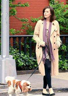 #LivTyler with her King Charles spaniel
