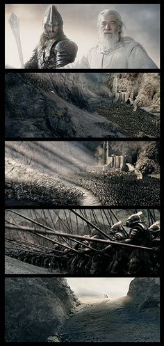 ~ Screen Shots ~  ~ Lord Of The Rings ~ ~ J R R Tolkien ~ ~ Gandalf ~ ~ Eomer ~