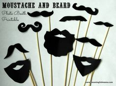 DIY Photo Booth Moustache and Beard Props with Printable Baby Shower DIY Photo Booth Moustache and Beard Printables via Baby shower ideas for boy or girl Baby Shower Photo Booth, Baby Shower Photos, Boy Baby Shower Themes, Baby Shower Printables, Baby Shower Parties, Baby Boy Shower, Baby Shower Decorations, Diy Fotokabine, Moustache Party