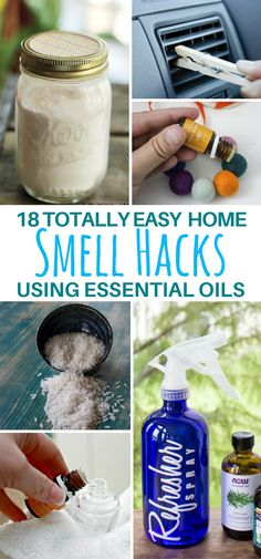 These 18 Essential Oil Home Smell Hacks Will Keep Your Home Fresh Every Day! | Scent DIYs | Natural Fragrance #essentialoils #diy #homehacks #hacks #scents