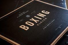 Boxing Clever...box. by Misty Manley, via Behance