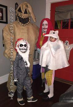 Family Nightmare Before Christmas Theme Baby Zero Costume...