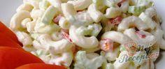 Recept Minutkový těstovinový salát s fantastickou zálivkou