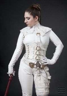 White Mord Sith costume from the Sword of Truth series