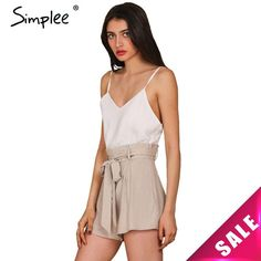 Simplee Apparel Summer 2016 White Elegant Jumpsuit Romper Women Bow One Piece Casual Playsuit Sexy Backless Short Overalls Girls  $32.00 www.ShopDulceVida.com . . #and #me #shopify #venezuela #beautiful #Activewear #makeup #navyblue #waist #skirts #sexy #workout #sweaters #Quick #clothes