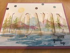 Stampin' Up! Waterfront Eclipse