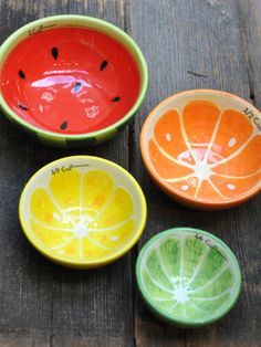 Fruit Measuring Cups @Pascale Lemay Lemay De Groof
