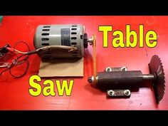 DIY homemade table saw how to Simply Make It - YouTube