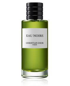 Christian Dior La Collection Privée Eau Noire (2004, Francis Kurkdjian). Top notes: sage and anis, middle notes: lavender, Virginian cedar and coffee, base notes: leather, vanilla and violet