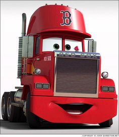 Mack is a character in the Cars movies. He also appears in Radiator Springs racers. Mack is the semi-truck that transports Lightning McQueen and was his best friend. It's his job to get the Piston Cup racer to the next track on time and in comfort. Art Disney, Disney Tangled, Disney Pixar Cars, Disney Png, Disney Wiki, Mack Trucks, Semi Trucks, Big Trucks, Car Images