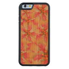 Floral Cherry wood iPhone6 Bumper case