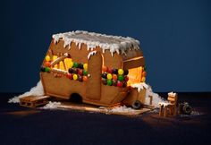 Gingerbread homes.  Swedish museum is creating focus on root and homeless people.