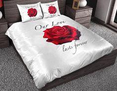 Sleeptime Dekbedovertrek Our Love wit